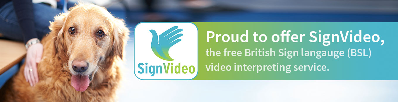 Proud to offer SignVideo